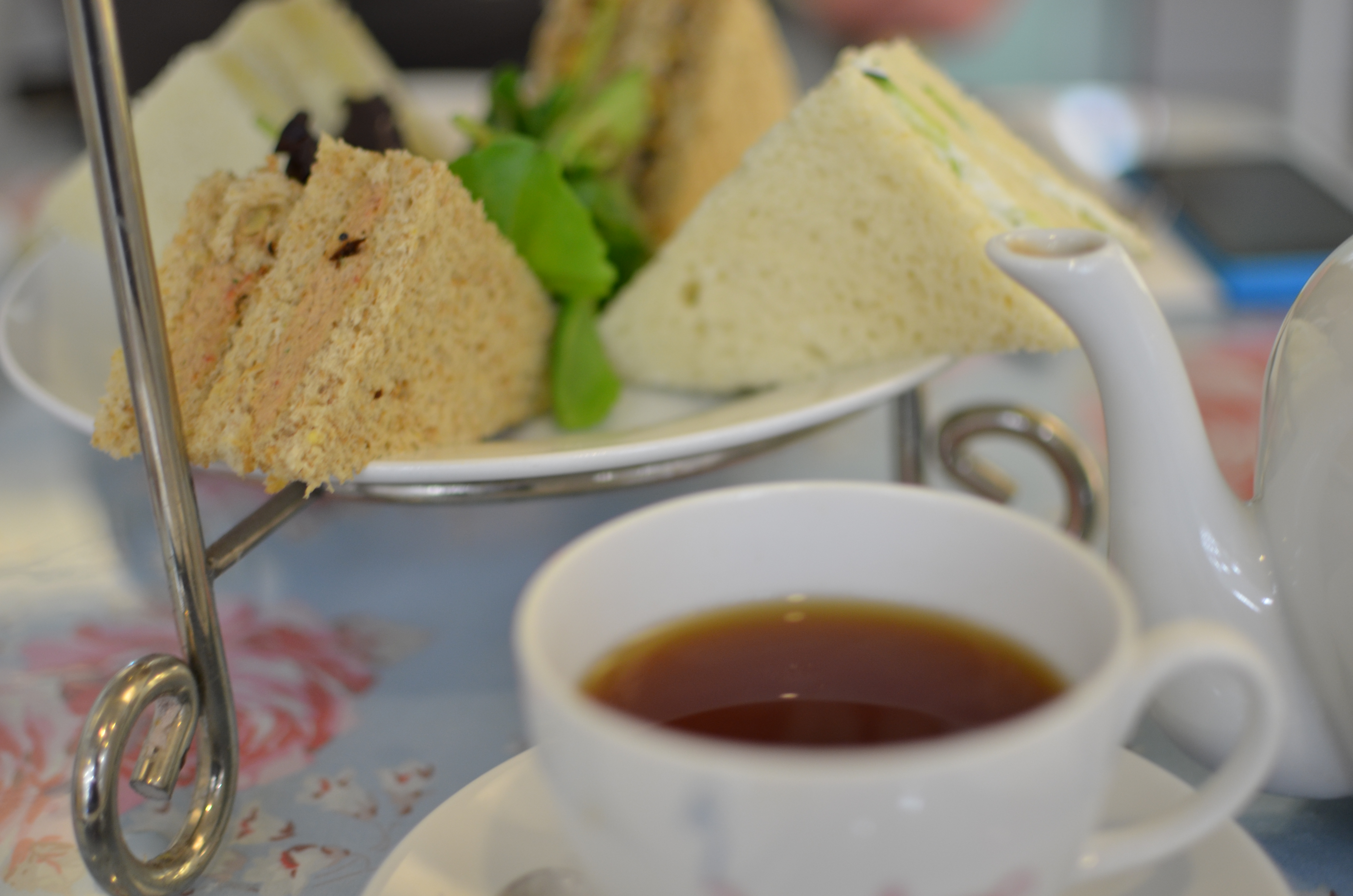 Afternoon Tea at Crown and Crumpet
